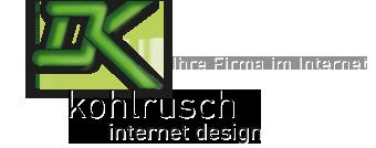 kohlrusch - internet design